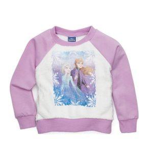 👧🏻NWT $44 Disney Frozen 2 Sweater 2T & 8-10